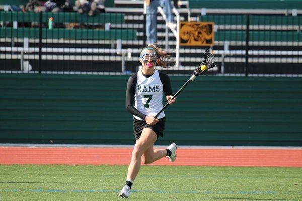 Farmingdale State lacrosse player Nicole Marzocca.