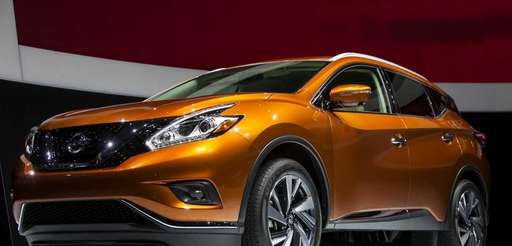 The 2015 Nissan Murano is unveiled during a