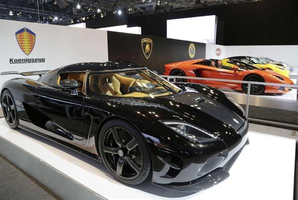 The Koenigsegg Agera R at the New York