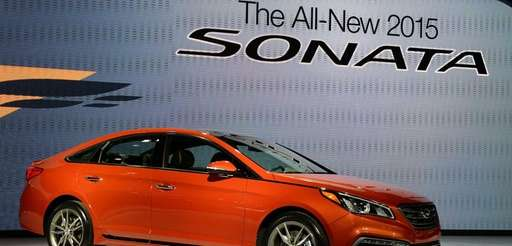 The 2015 Hyundai Sonata is unveiled April 16,