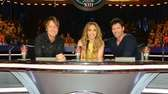 Judges Keith Urban, Jennifer Lopez and Harry Connick