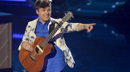 Alex Preston performs Ed Sheeran's