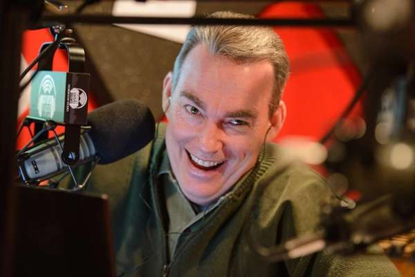 "Comedian John Mulrooney hosts ""Mulrooney in the Morning,"""