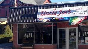 The new Uncle Joe's Pizza and Resturant in