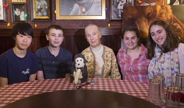 Kidsday reporters Kevin Ra, Sam Petruzzi, Sophia Theodorellis