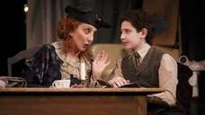 Andrea Martin as Aunt Kate and Matthew Schechter