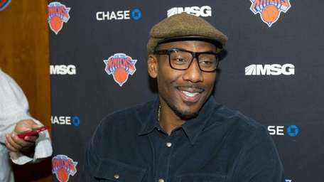 Amer'e Stoudemire, foward/center for the New York Knicks