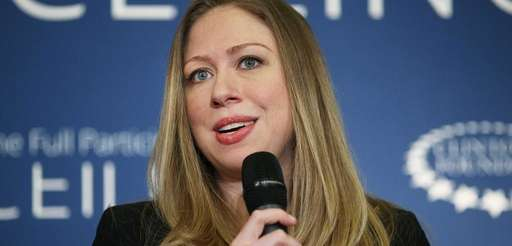 Chelsea Clinton speaks at the Clinton Foundation's No