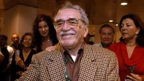 Gabriel Garcia Marquez attends the New Latin American