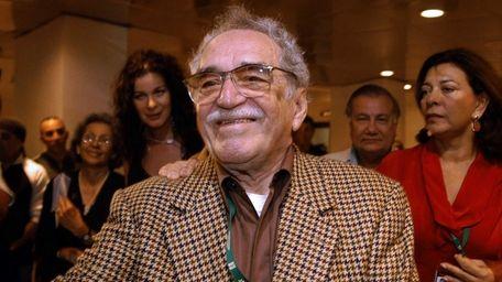 Gabriel Garcia Marquez attends the New Latin American