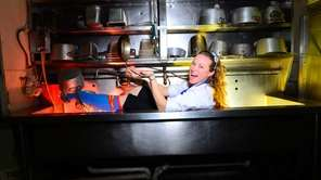 Schaefer's chef Heather West.