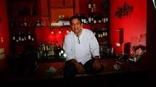 Chef Jay Jadeja in his Hicksville restaurant West