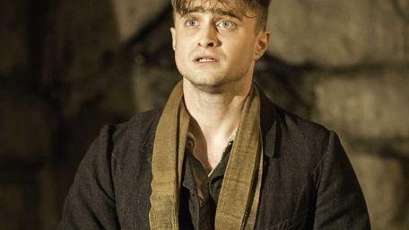 Daniel Radcliffe performing in