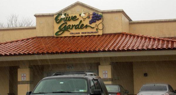 Olive Garden in Centereach.