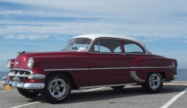 1954 Chevrolet 210 two-door sedan owned by Charles