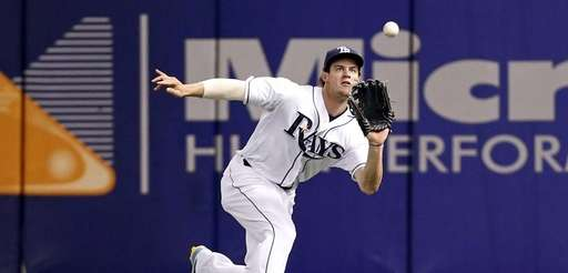 Tampa Bay Rays rightfielder Wil Myers makes a