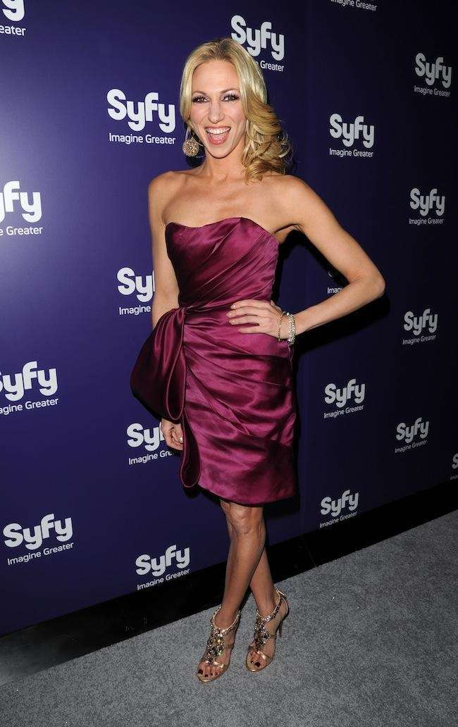Debbie Gibson attends the Syfy premiere of