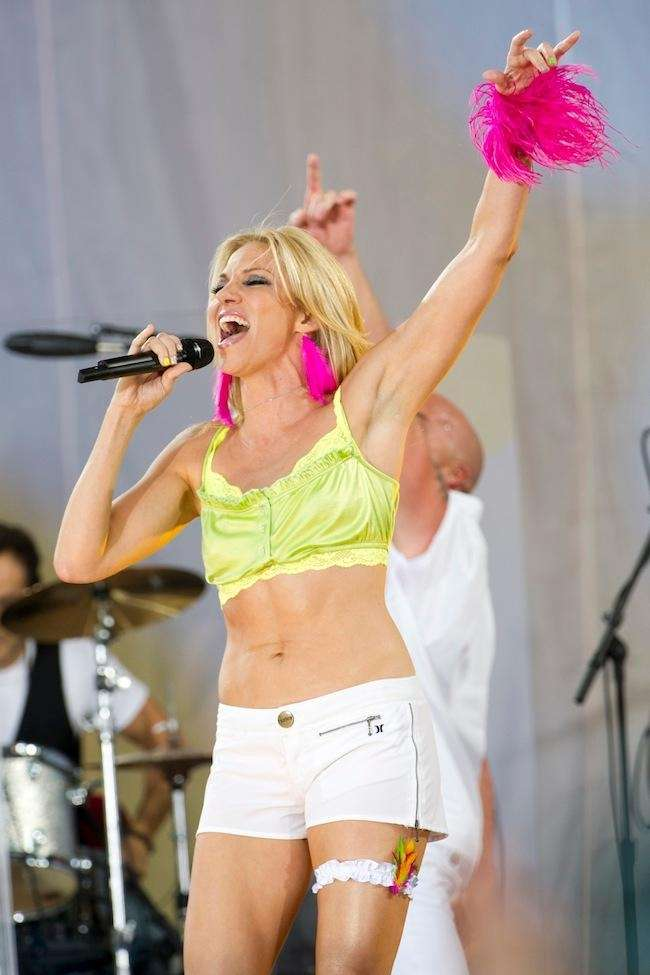 Debbie Gibson performs on ABC's