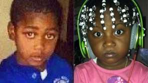 Jai'Launi Tinglin, left, and Aniya Tinglin, both 4,