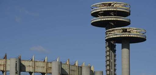 Part of the New York State Pavilion as