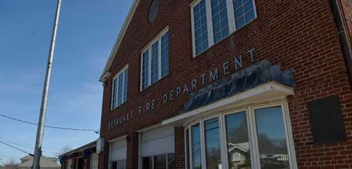 The Setauket Fire District, shown on Thursday, April