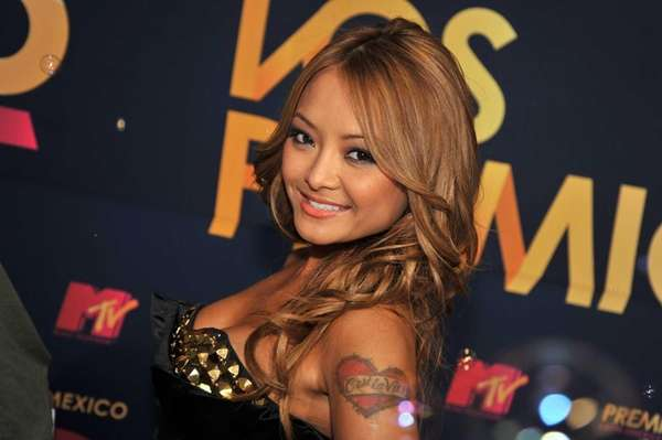 TV personality Tila Tequila arrives at the 7th