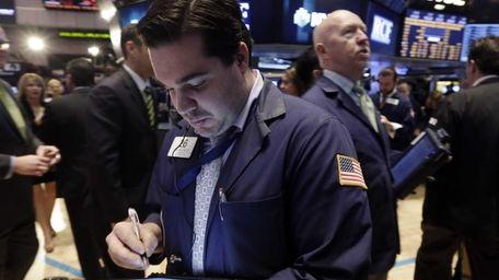 Stocks were mixed Monday, April 21, 2014, as