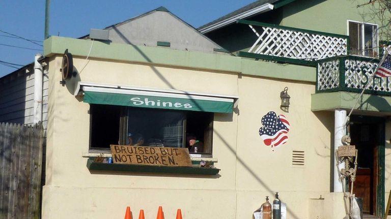 In hard-hit Long Beach, several bars became makeshift