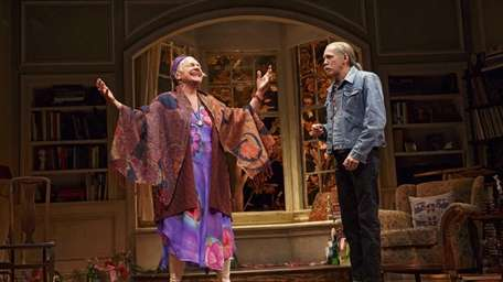 Estelle Parsons and Stephen Spinella in