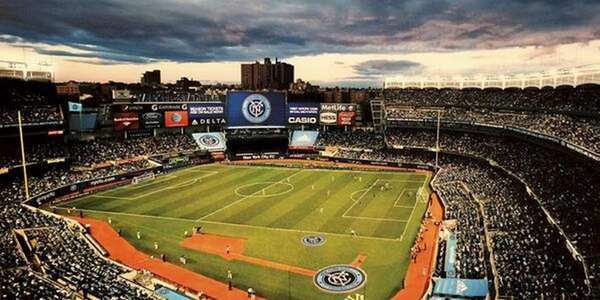 A rendering of how Yankee Stadium will be