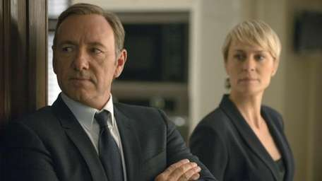 Actor Kevin Spacey stars as the cunning politician