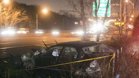 A motorist was killed and another injured in