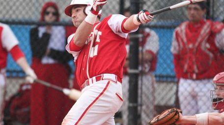 Tom DiGiorgi hits a solo home run in