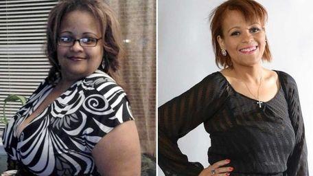 Nurse Katherine Jackson, 40, of Central Islip, turned