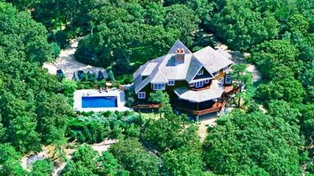 This home in Peconic sits 45 feet above