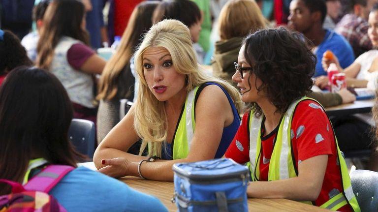 Ari Graynor as Meredith Davis and Sara Gilbert