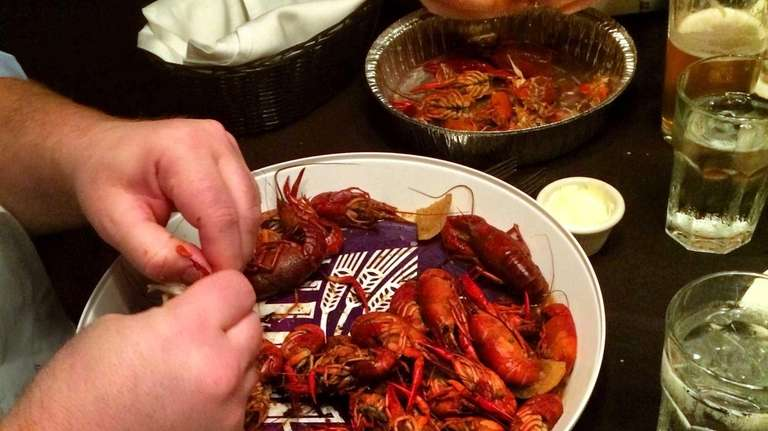 Crawfish season has arrived at Storyville American Table