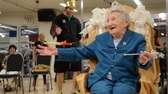 "Elizabeth ""Nan"" Smith celebrates her 100th birthday three"