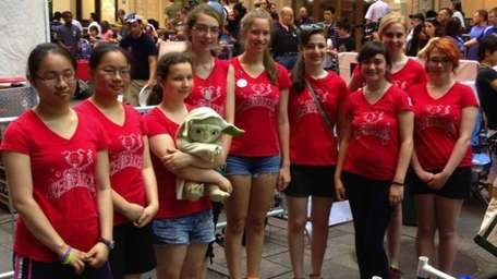 The Icebreakers 4183, an all-girl FIRST robotics team