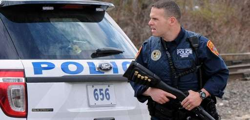 A Suffolk County police emergency service officer was