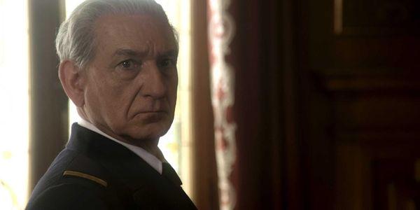 "Ben Kingsley as Regent Horthy in ""Walking with"