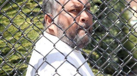 Khemchan Sulaiman, on Thursday, April 24, 2014, leaves