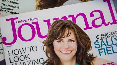 An issue of Ladies' Home Journal on news