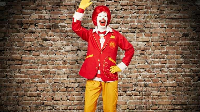 Ronald McDonald with updated clothing. On April 23,