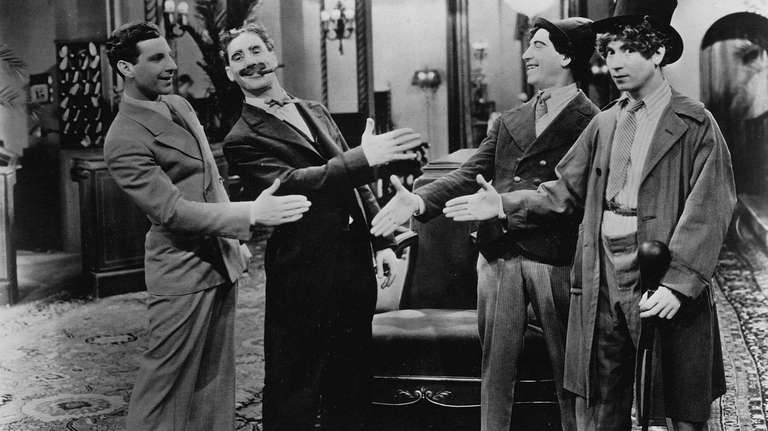 The Marx Brothers in