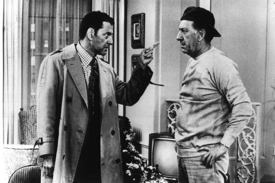 Tony Randall, left, and Jack Klugman starred as