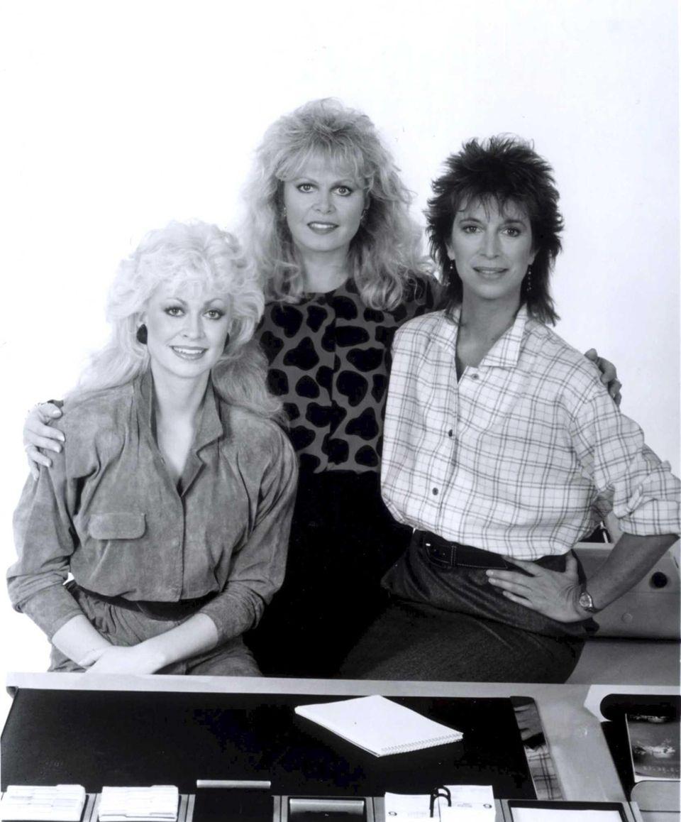 Rachel Dennison, left, Sally Struthers and Valerie Curtin
