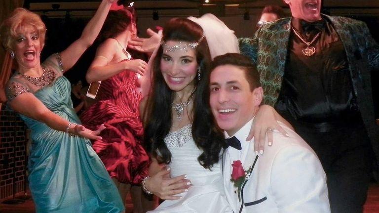 The Bride (Marilia Angeline) and The Groom (Joe