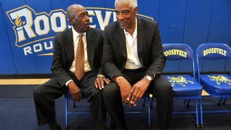 Legendary Roosevelt High School basketball coach Ray Wilson,