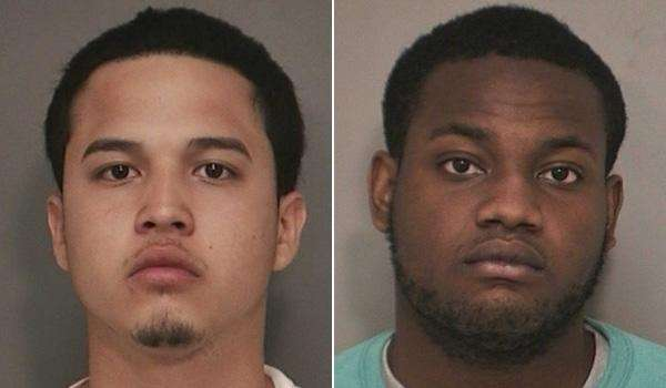 Eric Amaya, left, 18, of Roosevelt, is charged